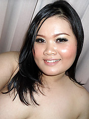 Plump Asian Jean takes dirty pictures of herself