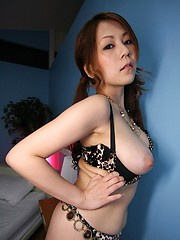 Sexy Asian Yuki Aida nailed by a big cock