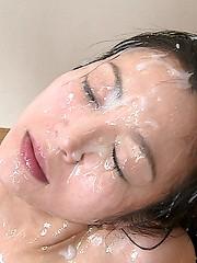 Facial bukakke japanese mistaken. simply excellent