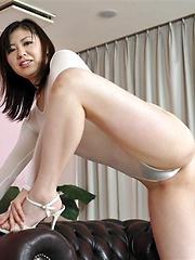 Jun Sena  masturbation scene